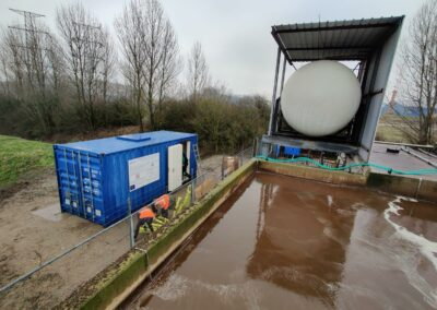 PP#9: Last testing site: pilot commissioning on Landfill Leachate